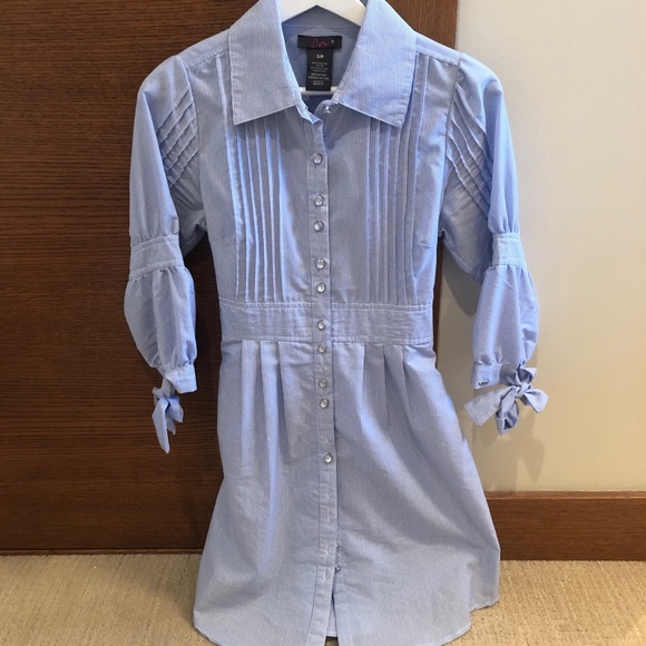 🌷 Dex oxford shirt dress size S